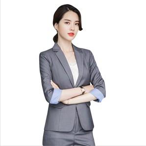 全2色★S~5L★大きいサイズ OL 通勤 通学 ビジネス  パーティー オシャレ  スーツ
